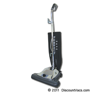 Perfect P104 16 Inch HEPA Commercial Upright Vacuum
