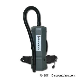 Perfect PB1001 HEPA Certified 10 Quart Commercial BackPack Vacuum