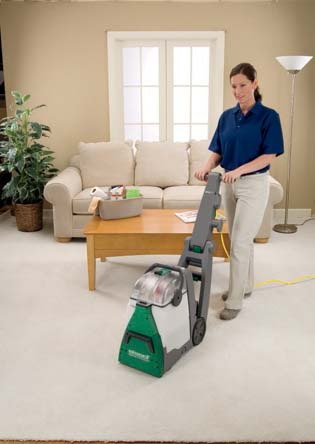 Bissell BG10 Upright Commercial Deep Cleaner Vacuum
