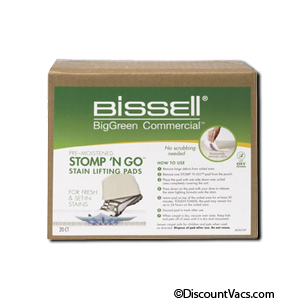 Bissell Stomp N Go Stain Lifting Pads, Part # 77D1