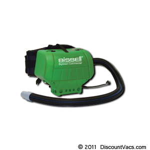 Bissell BigGreen Commercial High Filtration HipVac, Part # BGHIP6A