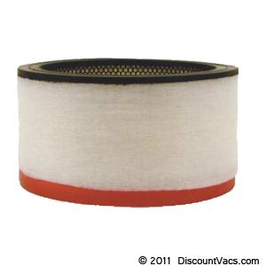 Bissell BigGreen Commercial Hepa Motor Filter (Red) for BGCOMP9H, Part # HEPACART-09