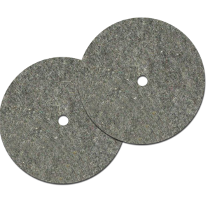 Bissell Felt Buffing Pads Part # 45-0103-7